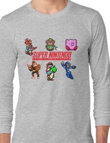 Super Nintendo Long Sleeve T-Shirt