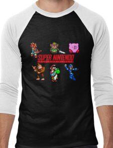 Super Nintendo Men's Baseball ¾ T-Shirt
