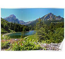 My favourite secret Swiss Lake Poster