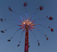 Amusement Park Ride by Anthony Woolley