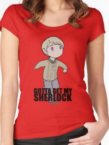 Gotta Get My SHERLOCK Women's Fitted Scoop T-Shirt