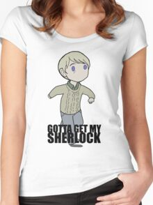 Gotta Get My SHERLOCK Women's Fitted Scoop T-Shirt