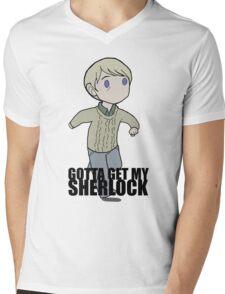 Gotta Get My SHERLOCK Mens V-Neck T-Shirt