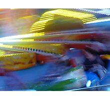 At the Amusement Park Photographic Print