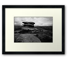 Rocks, Over Owler Framed Print