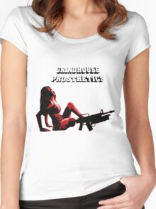 Grindhouse Prosthetics - Planet Terror Women's Fitted Scoop T-Shirt