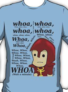 WHOA! -Roamin the Paladin (Black Text) T-Shirt