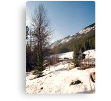 A little bit of Banff series #2 Canvas Print
