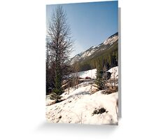 A little bit of Banff series #2 Greeting Card