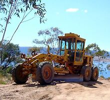 Grader by Caterpillar by Property & Construction Photography