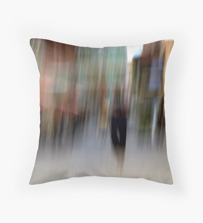 Crossing Rundle Street Throw Pillow