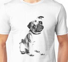 pug, i love pugs, cute pug Unisex T-Shirt