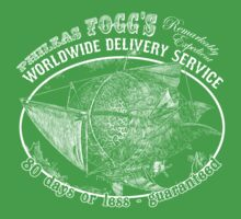 Phileas Fogg's Remarkably Expedient Delivery Service Kids Clothes