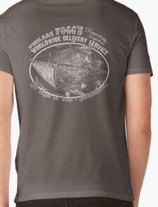 Phileas Fogg's Remarkably Expedient Delivery Service Mens V-Neck T-Shirt