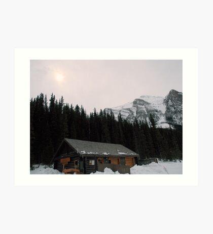 A little bit of Banff series # 3 Art Print