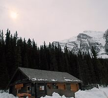 A little bit of Banff series # 3 by Elisabeth Dubois