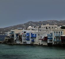 The Climb of Mykonos by Take-A-Stand