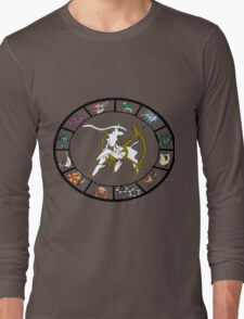 Pokemon Western Zodiac Long Sleeve T-Shirt