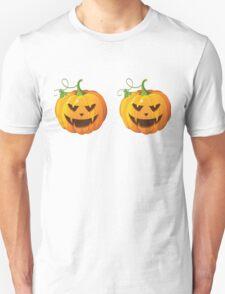 Dual Pumpkins Unisex T-Shirt