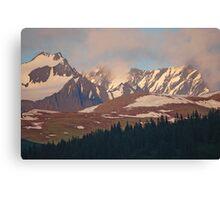 Alaska The Rugged Canvas Print
