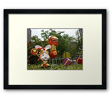 Dance dragon dance Framed Print