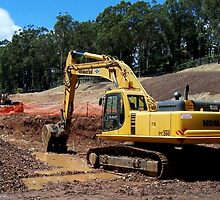 Komatsu PC300 Excavator by Property & Construction Photography