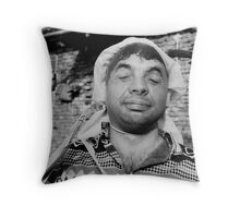 Carnivale Face Throw Pillow