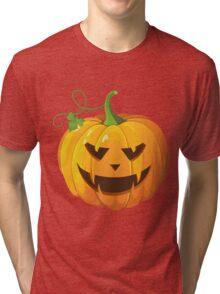 Jack-o-lantern Mark IV Tri-blend T-Shirt