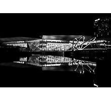 Reflection 1 Black and White Photographic Print