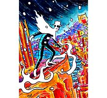 The Spirit of the Shadows - Sketch Card 2 Photographic Print