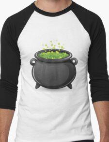 Halloween Cauldron featuring Mountain Dew? Men's Baseball ¾ T-Shirt