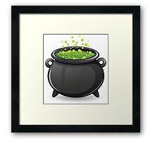 Halloween Cauldron featuring Mountain Dew? Framed Print