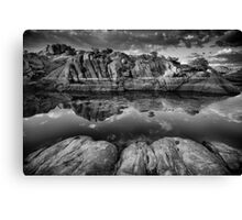 In The Grooves Canvas Print