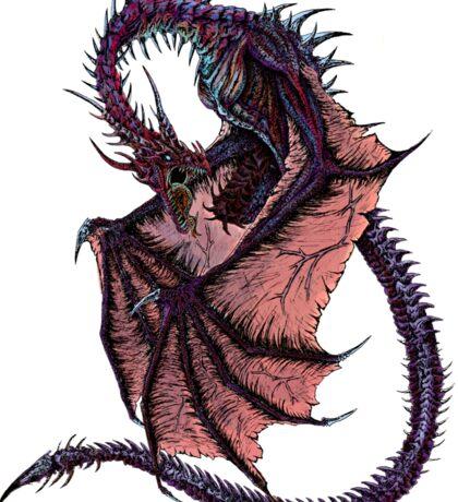Cursed Dragon Sticker