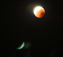 Lunar eclipse by MarthaBurns