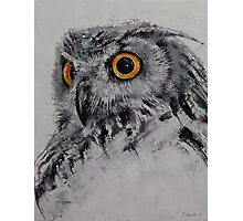 Spirit Owl Photographic Print