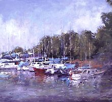 Anchored  by Lyn Green