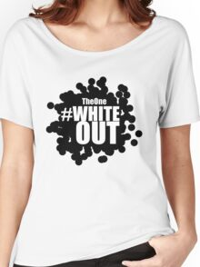 #Whiteout (Inverse) Women's Relaxed Fit T-Shirt