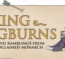 Official King Longburns Shirt 2015. Sticker