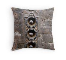 Doorbells, Firenze Throw Pillow