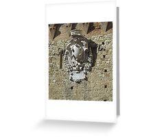 Shield, Pisa Greeting Card