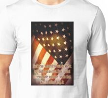 Light and Love Martin Luther King, Jr. Quote Unisex T-Shirt