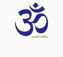 Buddhist Blue Om Unisex T-Shirt