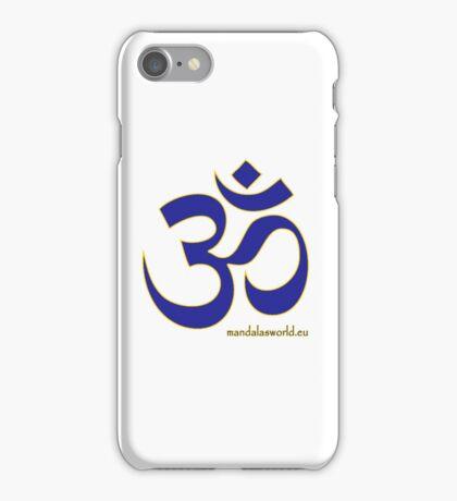 Buddhist Blue Om iPhone Case/Skin