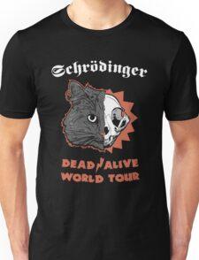 Schrödinger - DEAD/ALIVE World Tour Unisex T-Shirt