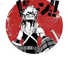 Bakugou - Boku no hero Academia  by NomadSenpai