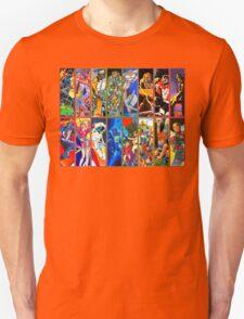 80s Totally Radical Cartoon Spectacular!!! T-Shirt