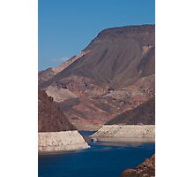 Landscape of Hoover Dam Photographic Print