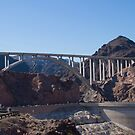 The Mike O&#x27;Callaghan - Pat Tillman Bridge from Hoover Dam by Henry Plumley