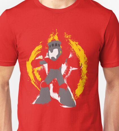 Robot Master Fire Man Vector Design T-Shirt